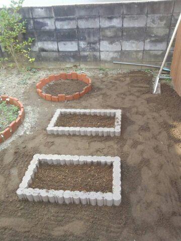 四角の花壇