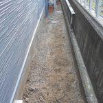 固まる砂利 施工前