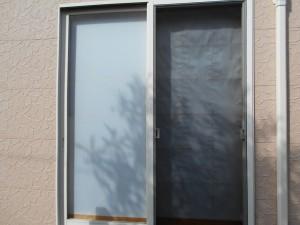 障子を変えた窓
