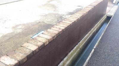 コンクリート塀塗装
